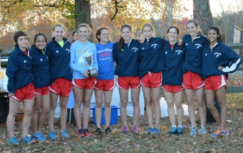 The girls' team placed second at the 5A North Region Championships on Nov. 6. Photo courtesy of Sally Stumvoll.