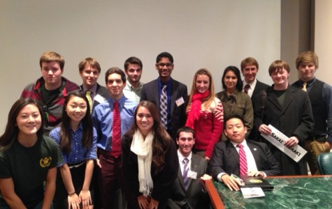 The Secretary-Generals from 15 schools debated in the Ad-Hoc Committee of the Secretary-General at WMHSMUN.