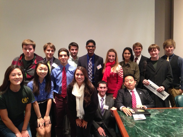 The+Secretary-Generals+from+15+schools+debated+in+the+Ad-Hoc+Committee+of+the+Secretary-General+at+WMHSMUN.