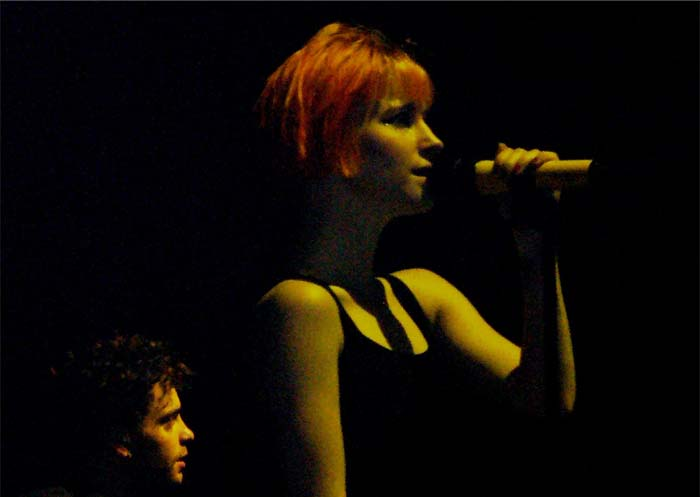 Paramore lead singer Hayley Williams rocks at concert. Photos courtesy of Sanjoli Agarwal and Monique Mezher.