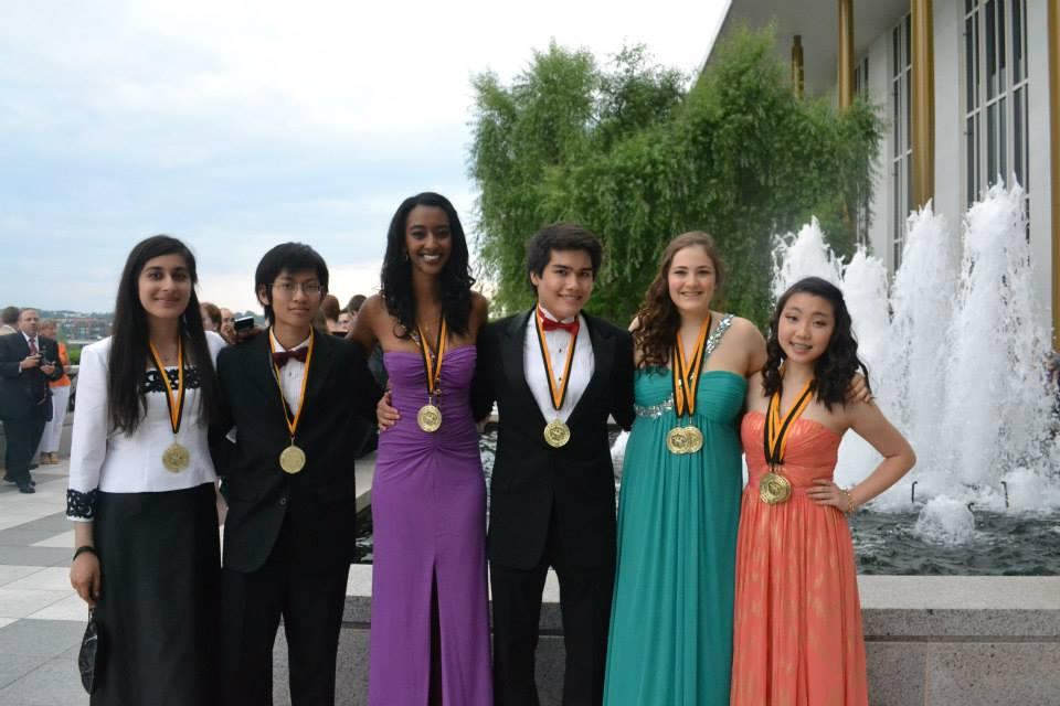 Last year's Cappies critic team at the Cappies Gala in June.