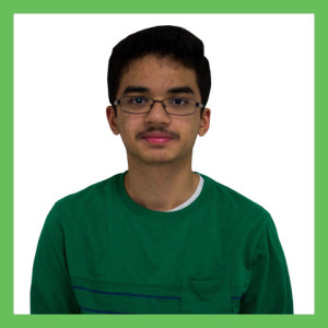 Freshman Anshu Sharma
