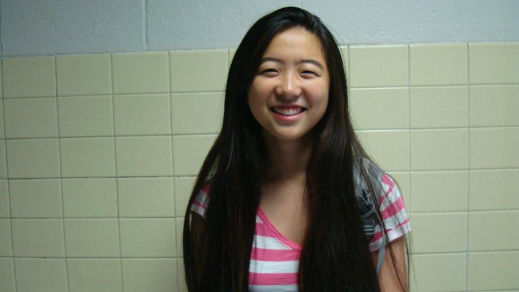 Sophomore Christine Li has been a member of New World Bilingual Toastmasters since the summer of eighth grade.