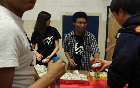 Japanese students hold Oshogatsu festival