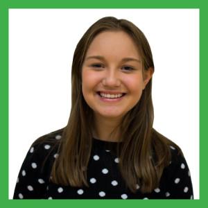 Freshman Kristin Myers