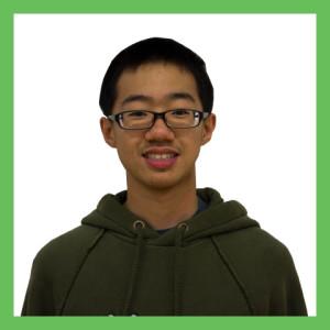 Freshman Peter Zhao