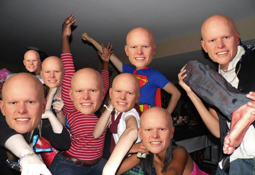Many students such as Mensah created a photoshop edit with McElveen's profile for their Facebook or Twitter pages.