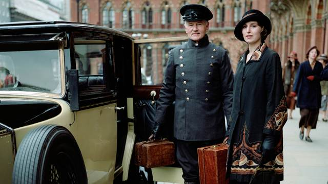 Lady Edith Crawley, portrayed by Laura Carmichael, frequently travels to London for both business and personal affairs. Photo courtesy of PBS.