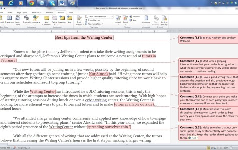 Writing Center plans to welcome new tutors