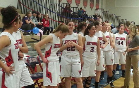 Girls' basketball team ends season on a high note