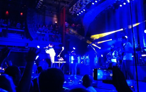 Sameer Gadhia, frontman of Young the Giant, performs songs off of the band's new album,