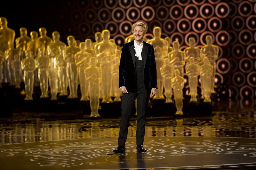 Talk show host Ellen DeGeneres hosted the 86th Academy Awards on March 2. Photo courtesy of http://oscar.go.com/