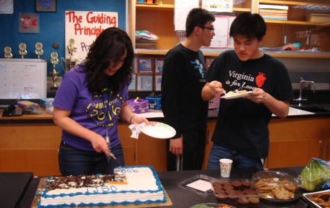 On March 7, the Science Olympiad team celebrated its outstanding performance at the Madison Regional tournament. The team will be getting ready for the state tournament, which will be held on March 22.