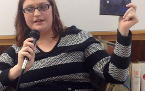 Jefferson Alumni, Meagan Spooner discusses her novel Skylark.