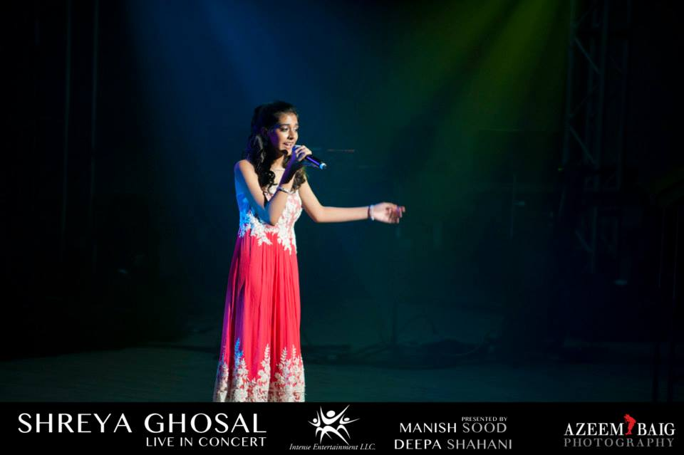 In addition to hosting her own TV segment dedicated to music, sophomore Shreya Bhatia sometimes opens for leading Indian playback singers and music directors.