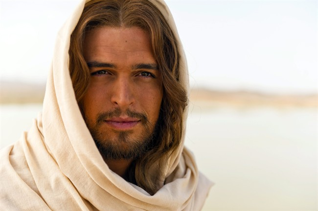 Portuguese actor Diogo Morgado takes the title role in the new biblical film,