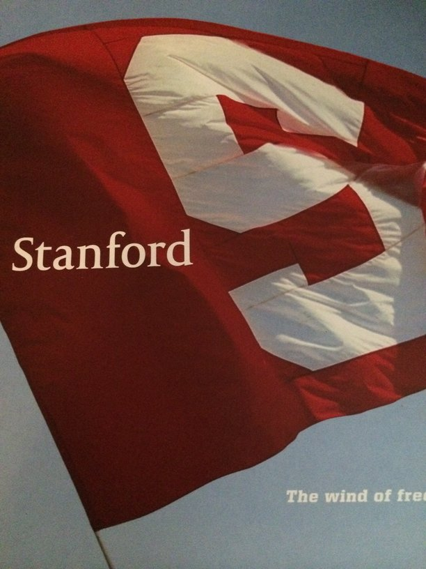 Stanford University, in Palo Alto, California, is often cited as sending likely letters.