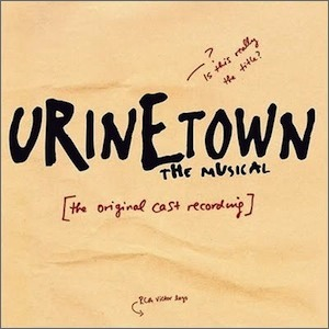 TJ Drama will be beginning rehearsals for their spring musical, Urinetown.   Photo courtesy of www.urinetown.co.uk.