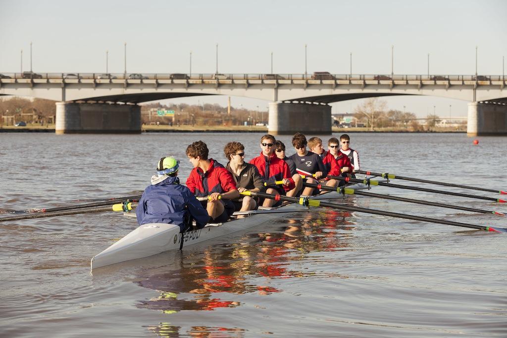 Jefferson crew attends the annual Gonzaga Visitation Regatta at the Anacostia River, while lower boats attend the Walter Mess Regatta on April 5.