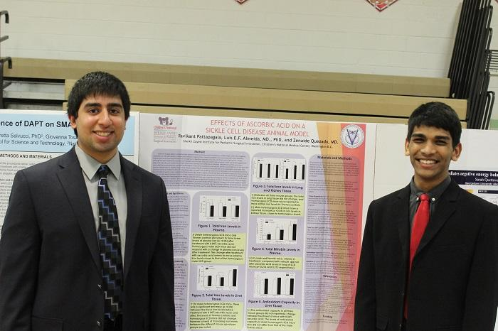 Mentorship students show off projects at Mentorship Fair