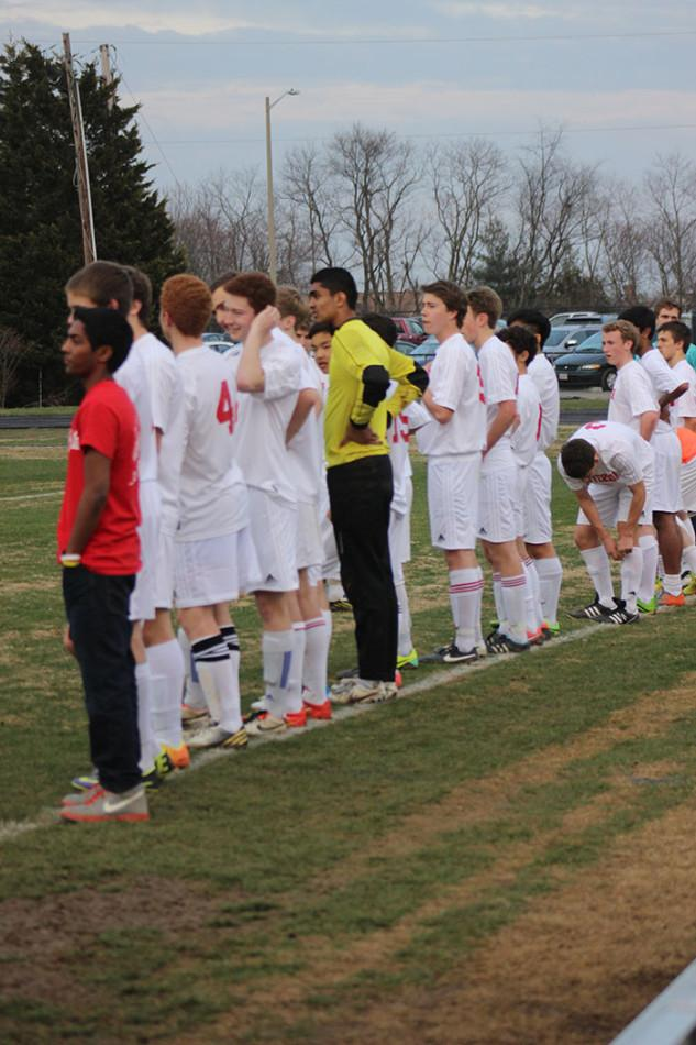 Varsity Boys' Soccer plays last Friday home game against Madison
