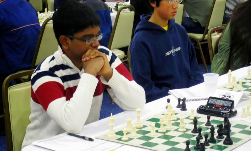 Junior+Jeevan+Karamsetty+helped+lead+the+TJ+Chess+Team+to+a+first+place+finish+in+the+blitz+tournament+after+placing+third+individually.