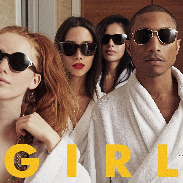 Singer and producer Pharrell Williams released his sophomore album