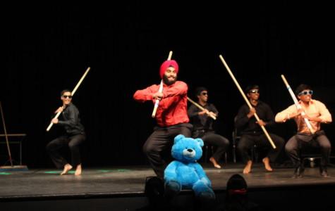 Seniors Brad Rosenblum, Ramanan Ramesh and  Kunal Singh Khurana held a performance in the auditorium on April 25.