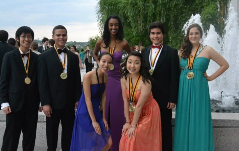 Jefferson students at the 14th Annual Cappies Gala last year.