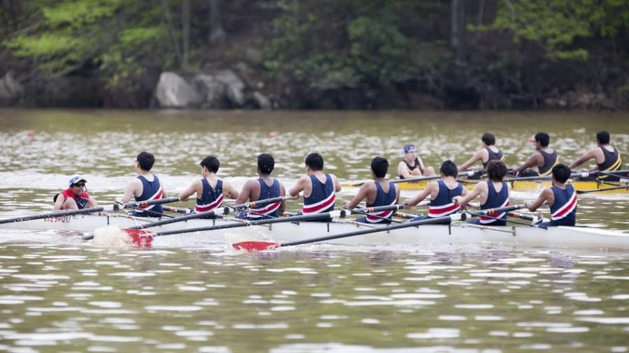 The+men%27s+fourth+eight+placed+first+in+their+race+at+the+Ted+Phoenix+Regatta+on+May+3.