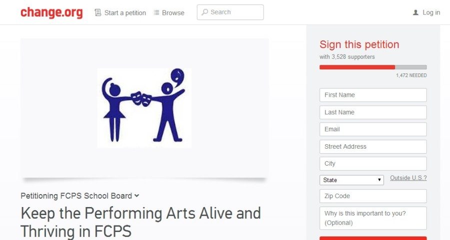 An+online+petition+regarding+the+Fine+Arts+Theatre+and+Dance+Specialist+position+has+gained+over+3%2C000+signatures.