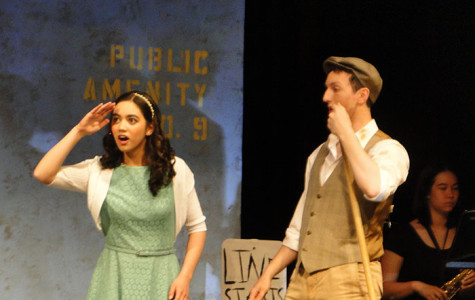 Hannah Pho and Alex Le Floch star as Hope Cladwell and Bobby Strong in TJ Drama's production of
