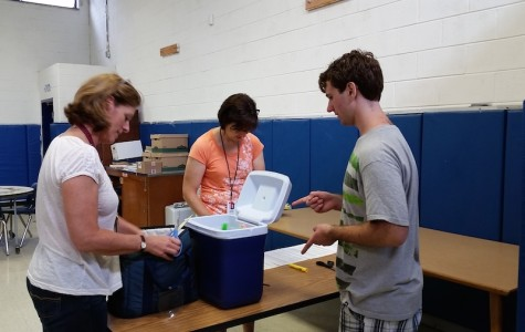 For having zero eighth period absences senior Keith Mirsky-Ashby received a popsicle during break on June 13.