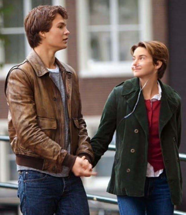 Augustus+Waters+%28Ansel+Elgort%29+and+Hazel+Grace+Lancaster+%28Shailene+Woodley%29+in+%22The+Fault+In+Our+Stars.%22+Photo+courtesy+of+http%3A%2F%2Fthefaultinourstarsmovie.com.