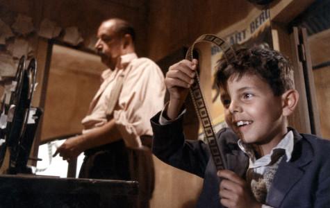 Philippe Noiret as Alfredo and Salvatore Cascio as Salvatore Di Vita star in the 1988 Italian film,