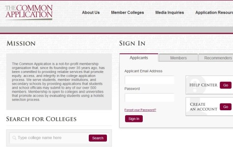 Common Application opens for seniors