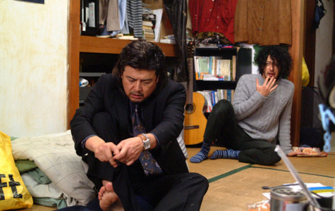 Tomokazu Miura and Joe Odagiri star as Aiichiro Fukuhara and Fumiya Takemura, respectively, in the 2007 Japanese film,