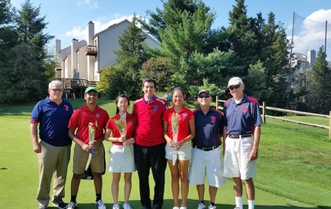CoEd golf team wins Senior Day match against Stone Bridge High School