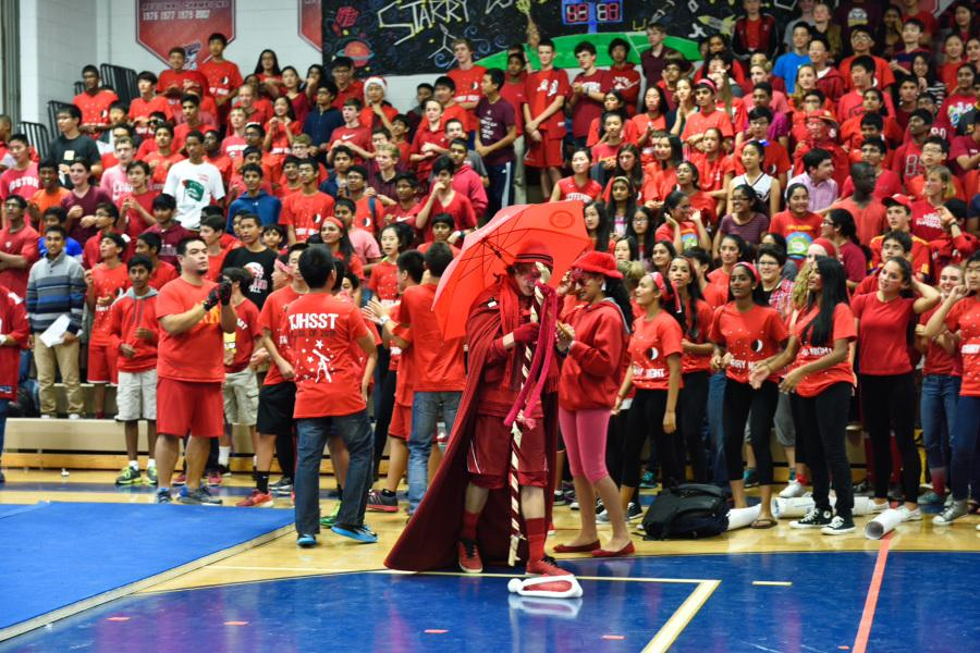 The+Class+of+2018+was+awarded+points+for+the+Best+Dressed+competition+at+the+A+block+pep+rally.