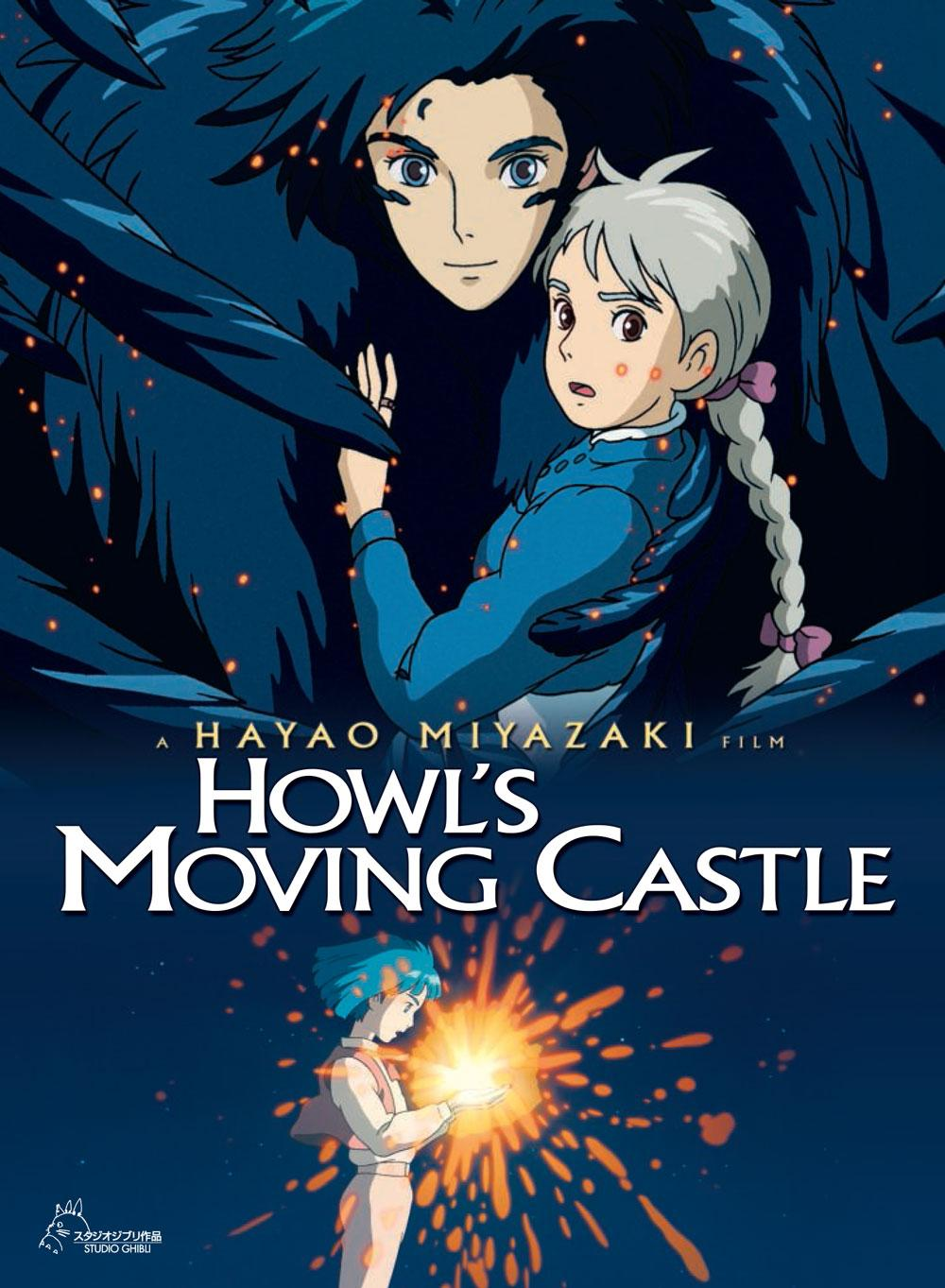 Photo courtesy of www.movies.disney.com/holws-moving-castle.