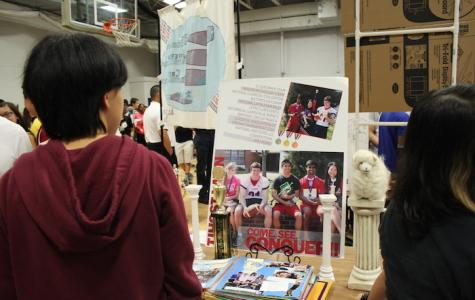 Students explore 8th period clubs at activities fair