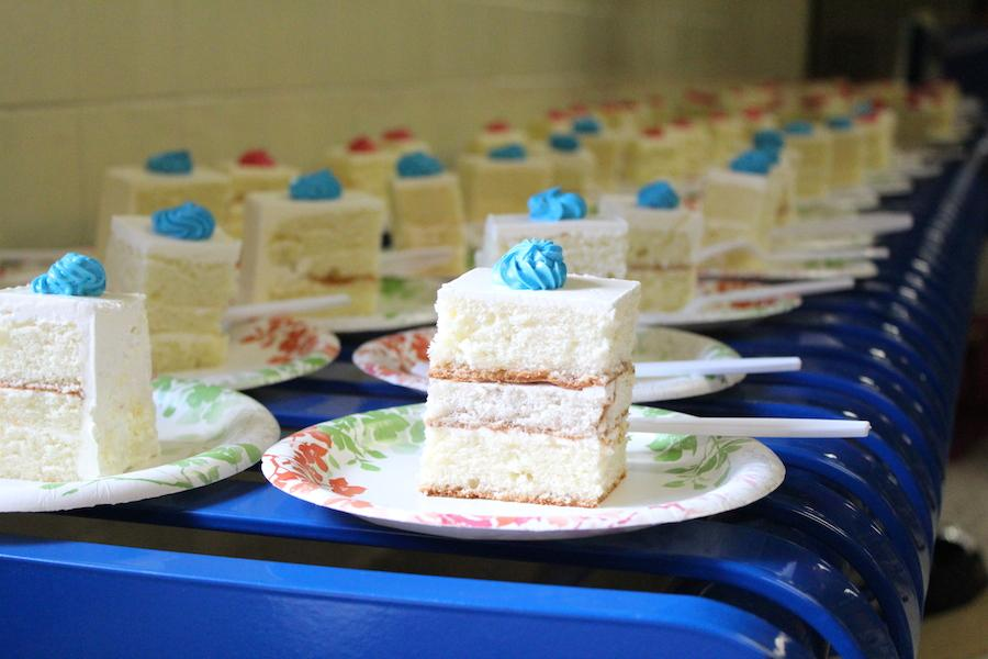 On Sept. 17, the Parent-Teacher-Student Association (PTSA) provided cake during break after Jefferson was recently ranked the best high school by Newsweek.