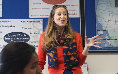 Representative Jeannine Lalonde presented the features of the University of Virginia at the College and Career Center on Sept. 22.