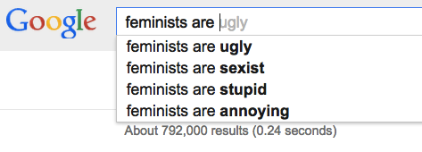 Google's most popular searches for feminists can be representative of many attitudes towards feminism itself.