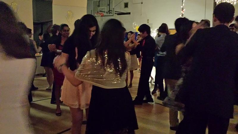 Students waltz at Viennese Ball