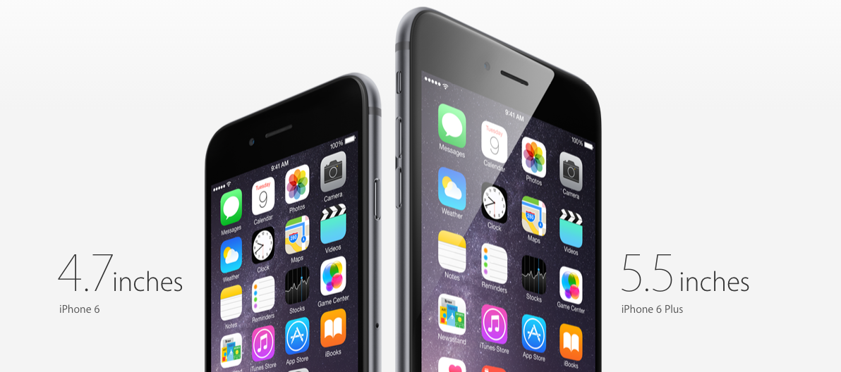 Photo courtesy of www.apple.com. The new generation of iPhone, iPhone 6 and iPhone 6 Plus, was introduced on Sept. 17.