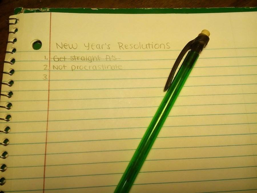 New Year's resolutions should be realistic