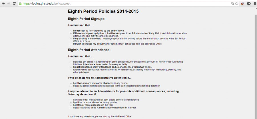 In+order+to+sign+into+eighth+period%2C+students+are+required+to+accept+the+policies+for+eighth+period.