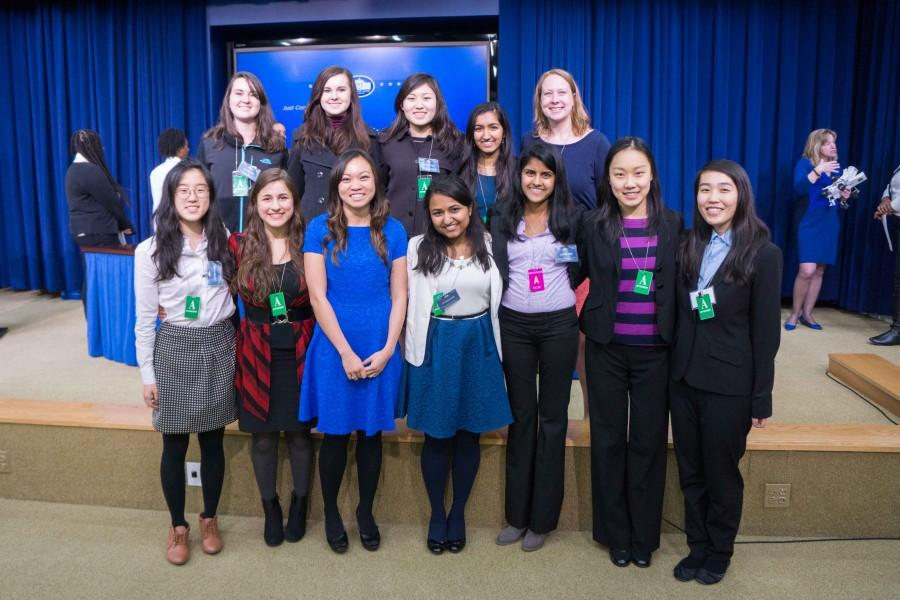 TJ Media met Kathy Pham, who works for the United States Digital Service and was a Guest of the First Lady at the State of the Union, at SoSTEM.