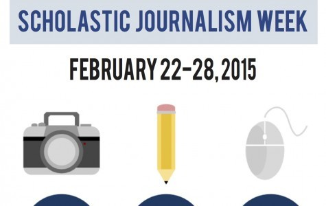 Scholastic Journalism Week lasts from Feb. 22 to Feb 28.